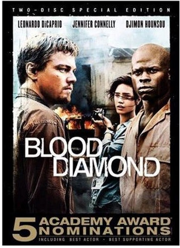 Blood Diamond DVD (beg)