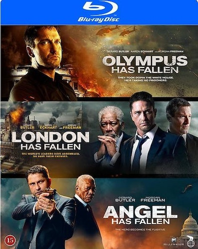 Olympus/London/Angel has fallen Box (Bluray)