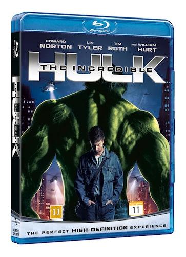 The Incredible Hulk bluray
