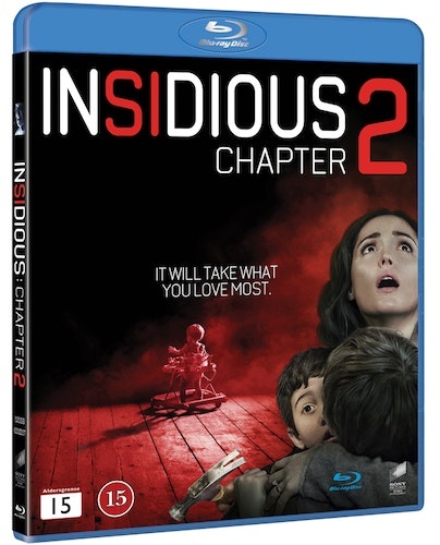 Insidious: Chapter 2 bluray