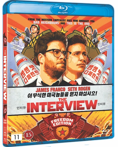 The Interview bluray