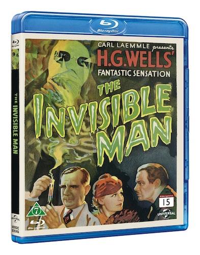 The Invisible Man från 1933 bluray