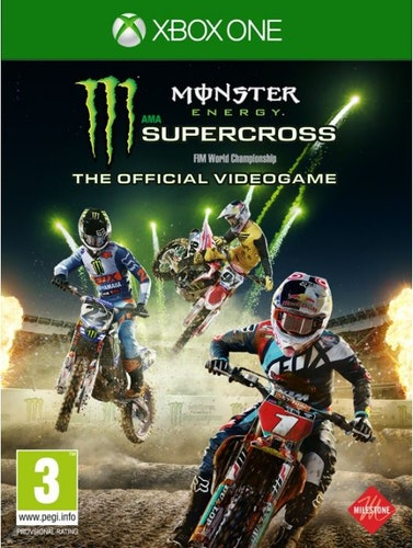Monster Energy Super Cross Xbox one