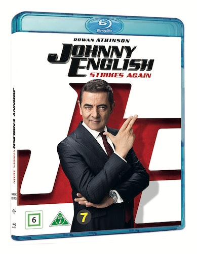 Johnny English Strikes Again bluray