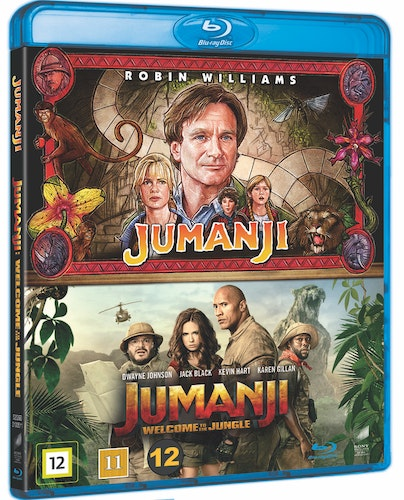 Jumanji 1+2 bluray