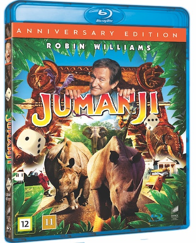 Jumanji - 20th Anniversary Edition bluray