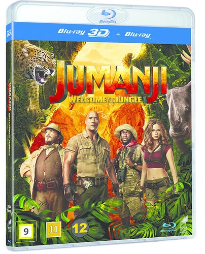 Jumanji: Welcome to the Jungle (3D) bluray