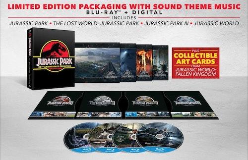 Jurassic Park 1-4 - Giftset bluray