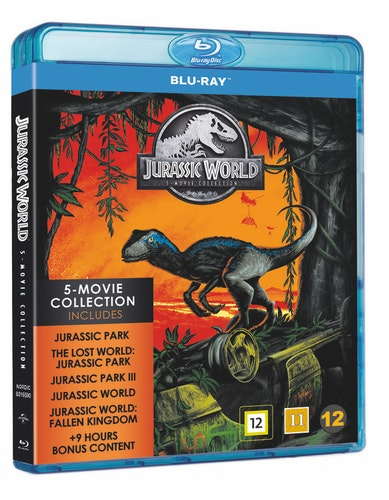 Jurassic Park 1-5 bluray