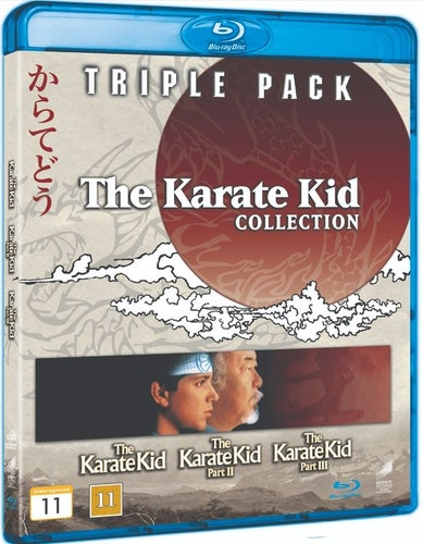 Karate Kid 1-3 bluray