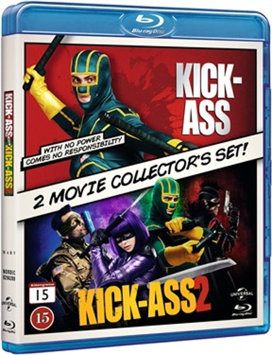 Kick-Ass 1 & 2 bluray