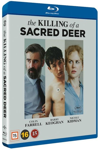 The Killing of a Sacred Deer bluray