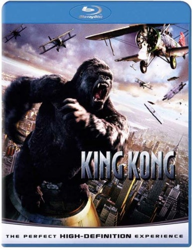 King Kong (2005) bluray