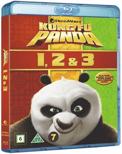 Kung Fu Panda 1-3 bluray