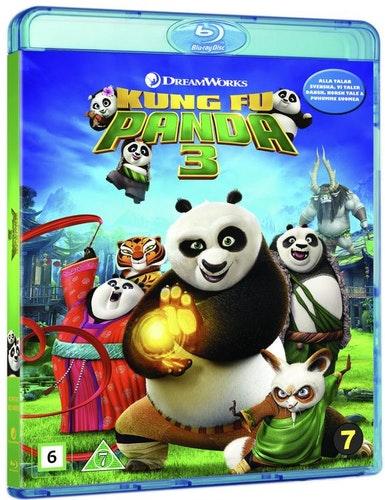 Kung Fu Panda 3 bluray