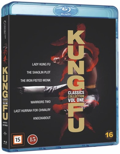Kung-Fu Classics 1 Box bluray