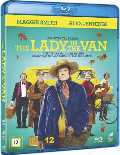 The Lady in The Van bluray
