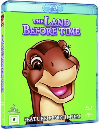 The Land Before Time/Landet för länge sedan bluray