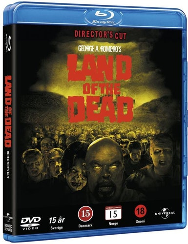 Land of the Dead bluray