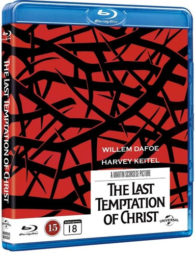 The Last Temptation of Christ bluray