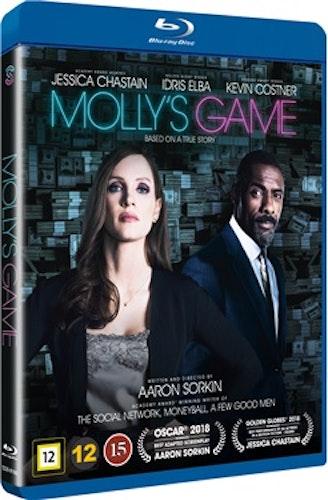 Molly's Game bluray