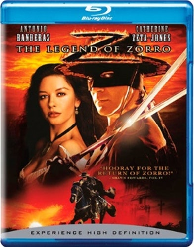 Legenden Om Zorro bluray