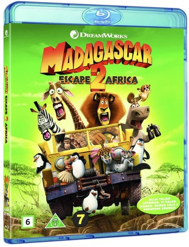 Madagaskar 2 bluray