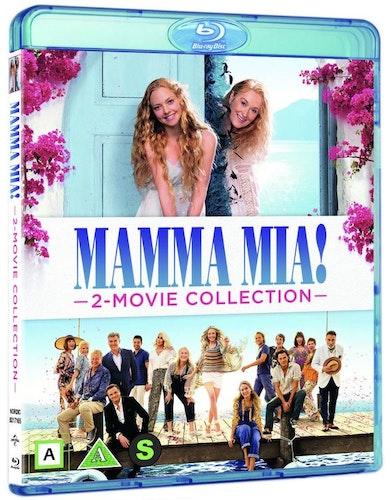 Mamma Mia! 1-2 Boxset (Bluray)
