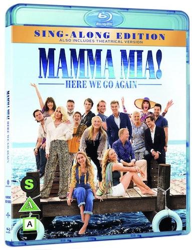 Mamma Mia! Here We Go Again  bluray