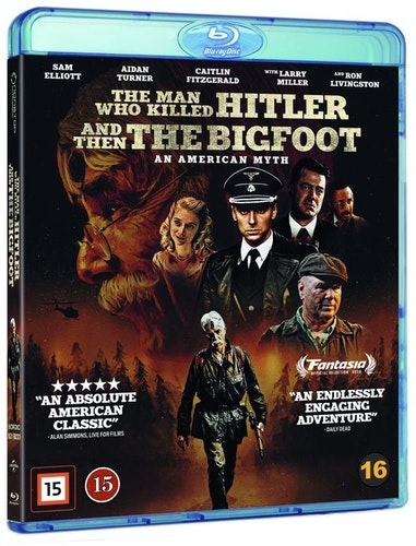 Man Who Killed Hitler and Then the Bigfoot bluray