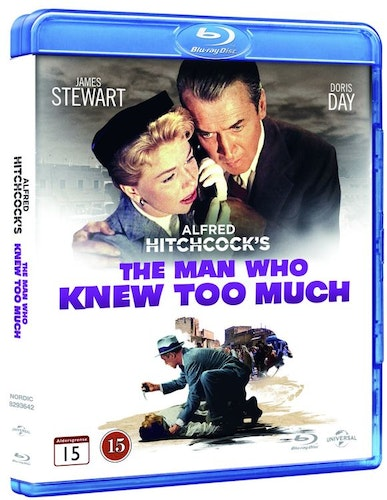 Man Who Knew Too Much bluray