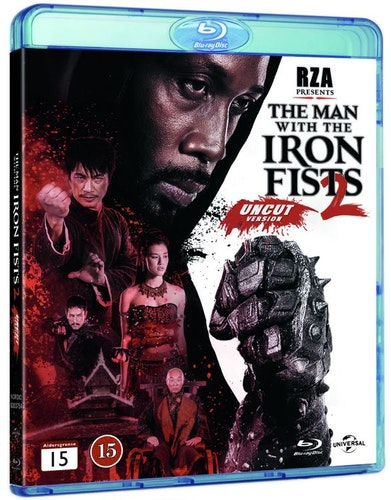 The Man with the Iron Fists 2 bluray