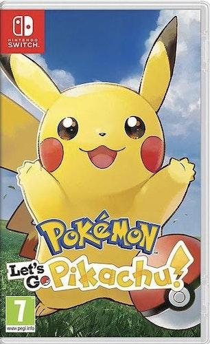 Pokémon: Let's Go, Pikachu! (Switch)