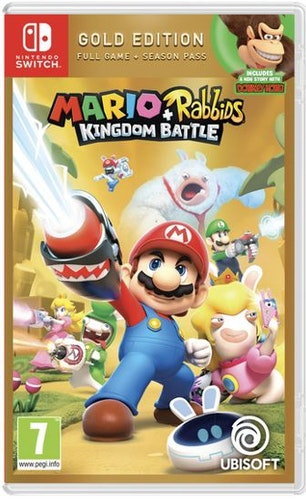 Mario + Rabbids: Kingdom Battle - Gold Edition (Switch)