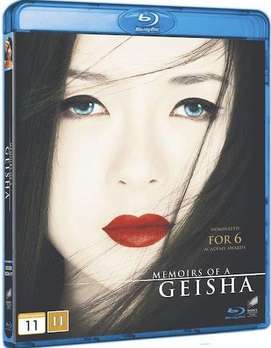 En Geishas Memoarer bluray
