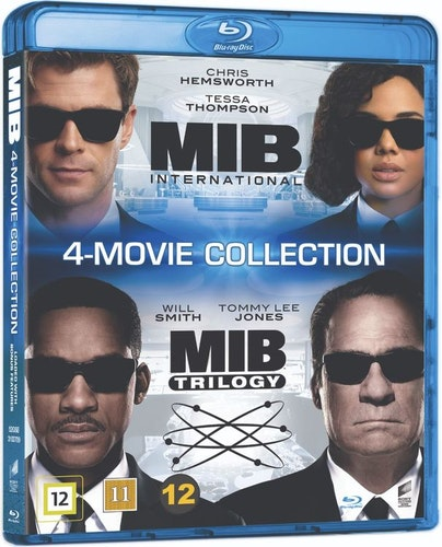 Men in Black - 4-Movie Collection bluray