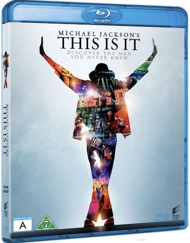 Michael Jackson: This Is It bluray