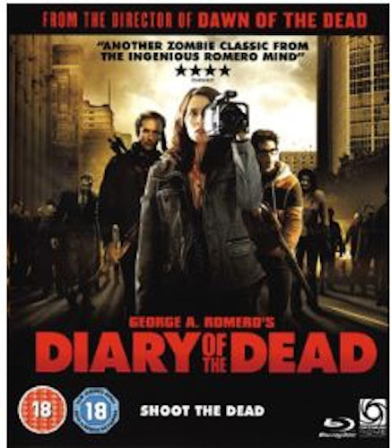 Diary of the Dead bluray (import)
