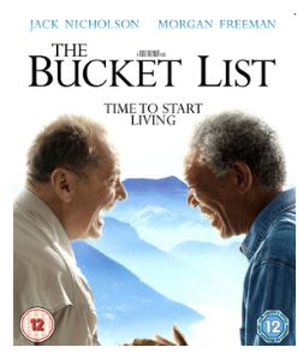 The Bucket List bluray (import)