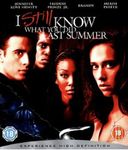 I still know what you did last summer (Bluray) (Import Sv.Text)