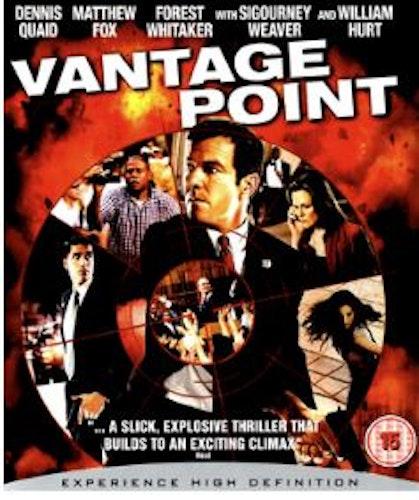 Vantage Point (Bluray) (Import Sv.Text)