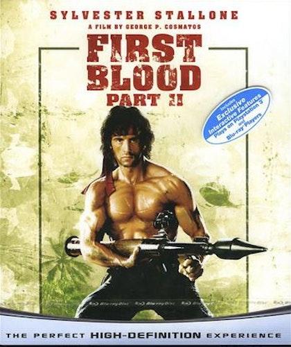 Rambo: First Blood Part II bluray