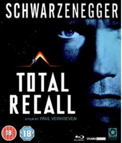 Total Recall Bluray (import Sv text)