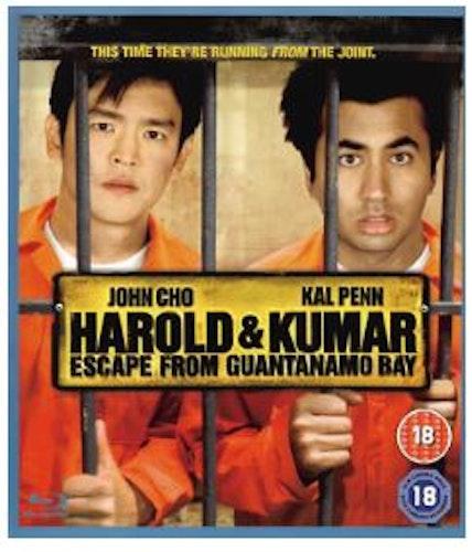 Harold & Kumar Escape From Guantanamo Bay Blu-Ray (import)