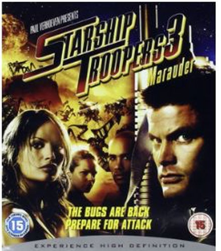 Starship Troopers 3: Marauder bluray (import)