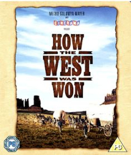 How the west was won (Bluray) (Import Sv.Text)