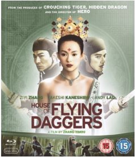 House of Flying Daggers bluray