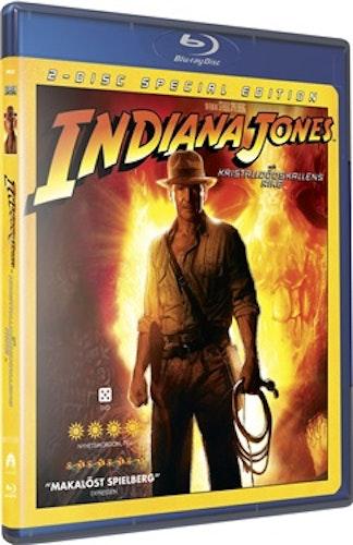 Indiana Jones och Kristalldödskallens Rike bluray