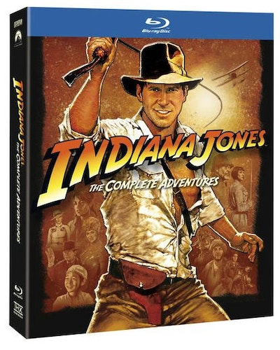 Indiana Jones - The Complete Adventures bluray