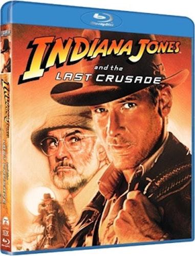 Indiana Jones: Det Sista Korståget bluray